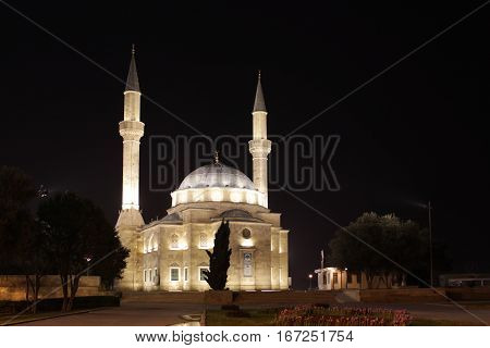 The Mosque of the Martyrs or Turkish Mosque is a mosque in Baku, Azerbaijan, near the Martyrs Lane Alley.