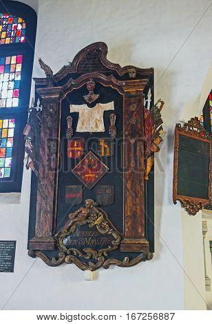 In Old Dutch Church