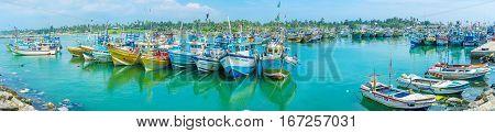 The Scenic Port Of Mirissa