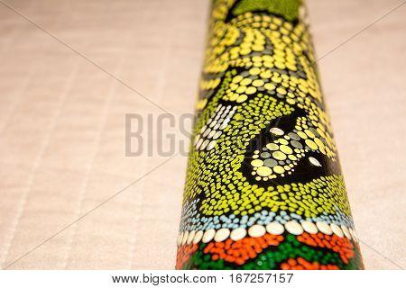 Didgeridoo - traditional aboriginal instrument from Australia