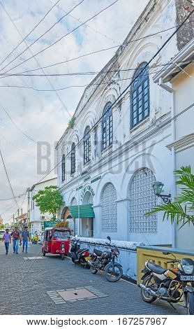 The Old Buildings Of Galle
