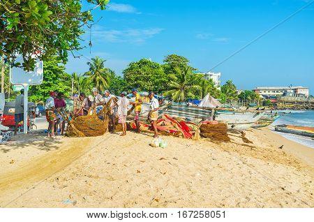 Fishermen's Team Work