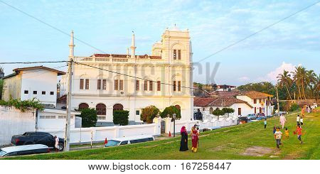 The Mosque In Galle