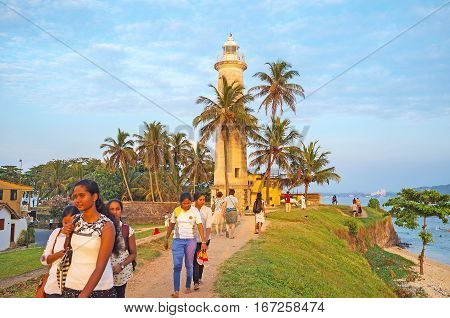 The Lighthouse Of Galle