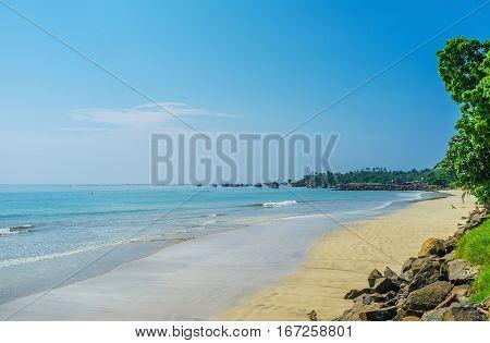 The Beach Of Weligama
