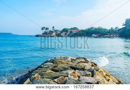The Shipyards At Galle Fort