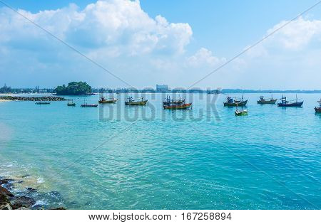 The Boats In Sea