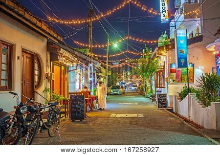 The Lights Of Galle