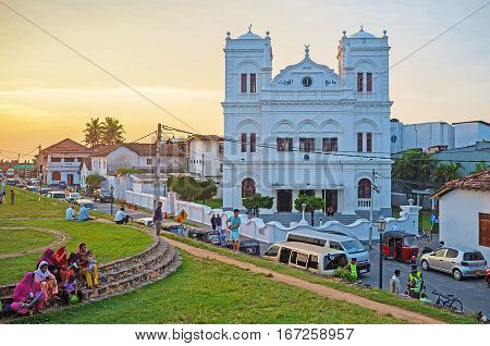 Evening In Galle