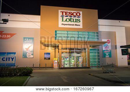 Tesco Lotus Meechok. Location On Road No.1101