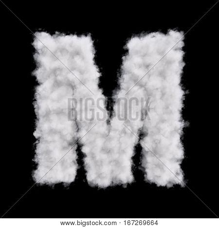 Cloud Letter M