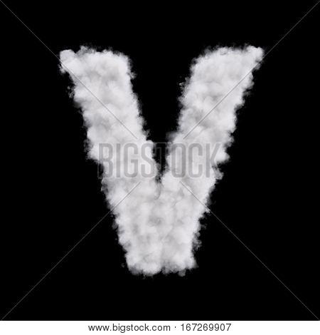 Cloud Letter V