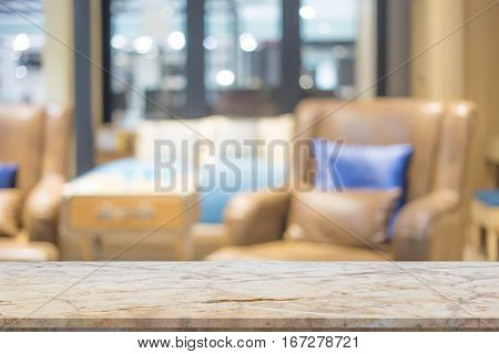 blur image of modern living room interior. Abstract blur beautiful luxury living room interior for background.