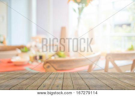 Blur Image Of Living Room For Background Usage .