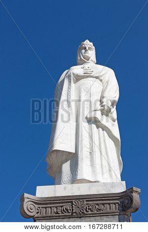 Sculpture of Princess Olga in Kiev, Ukraine
