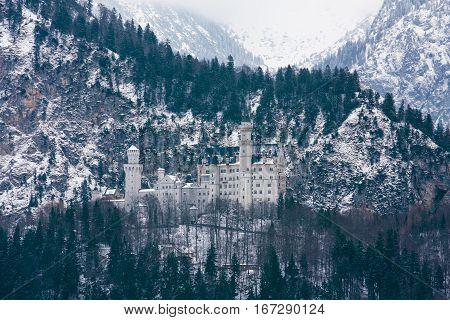 View To Neuschwanstein