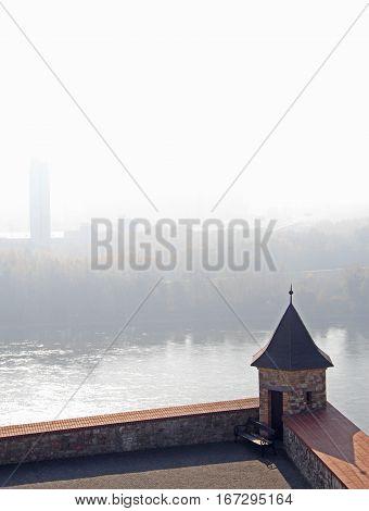 River Danube In Bratislava, Slovakia