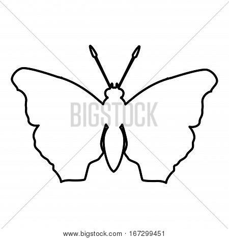 figure butterfly feminist defense design, vector illustration