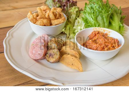 Northern Thai hors d'oeuvres Recipe, Thai foods