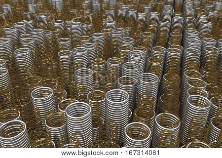 Glass And Metal Springs And Coils