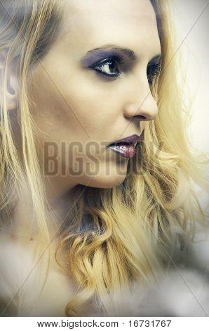 Fashion Portrait Of Young Pretty Woman