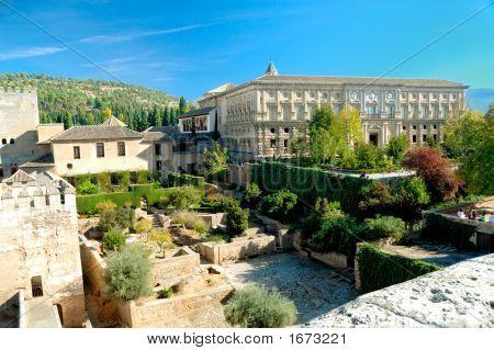 View At Palace Of Alhambra, Granada