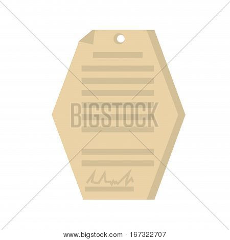 business document signature paper geometric vector illustration eps 10