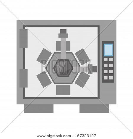 safe box lock combination security vector illustration eps 10