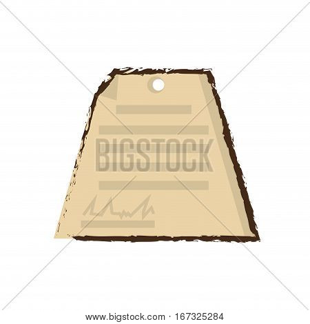 business document signature paper color sketch vector illustration eps 10