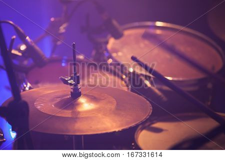 Warm Toned Live Music Photo Background