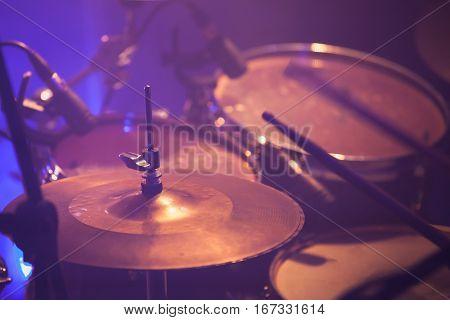 Warm Toned Live Music Photo Background
