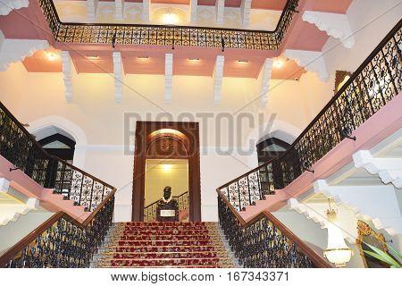 Taj Mahal Palace Hotel Stairway