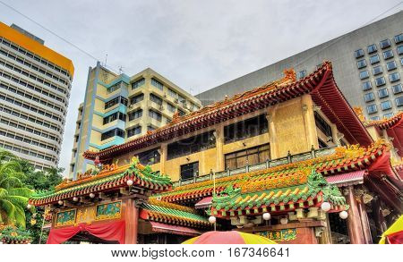 Kwan Im Thong Hood Cho Temple, a traditional Chinese temple in Singapore