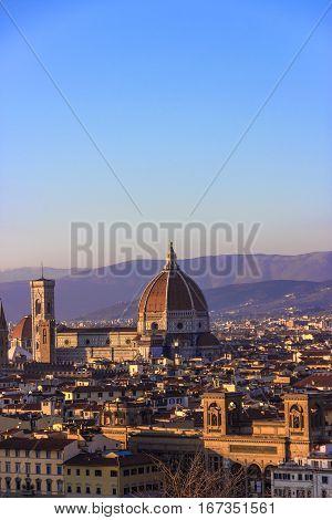 Duomo. Basilica di Santa Maria del Fiore. Florence, Tuscany Italy
