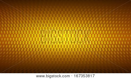 Abstract background of small dots in orange colors