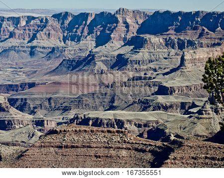Grand Canyon National Park. Arizona. United States.