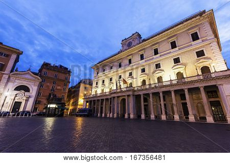 Colonna Square in Rome. Rome Lazio Italy.