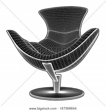 Modern Armchair Vector 26.eps