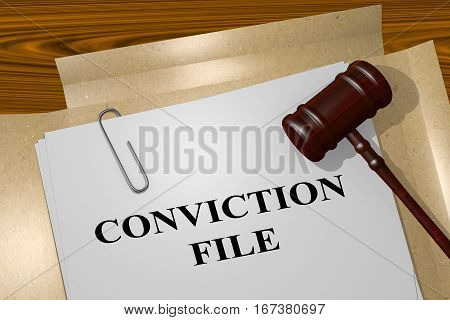 Conviction File Concept