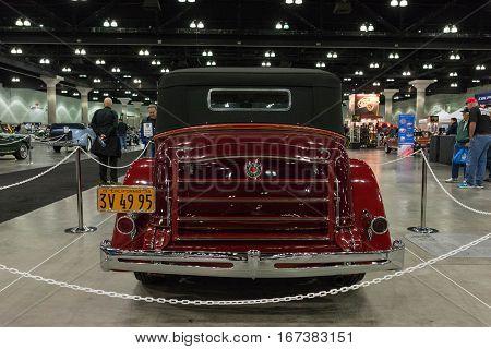 Packard Super 8 Convertible Victoria