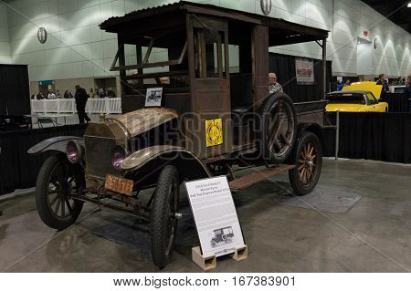 Ford Model T Full Top Express Model 221