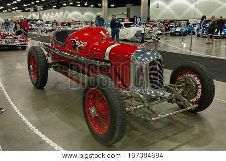 Miller Rail Frame Indy Car Burd Piston-ring Spl.