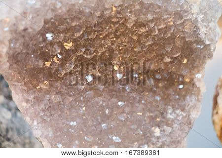Set of natural mineral gemstone of a certain type
