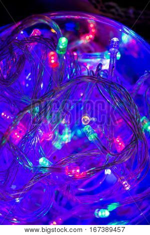 Christmas And Party Lights Of A Certain Type