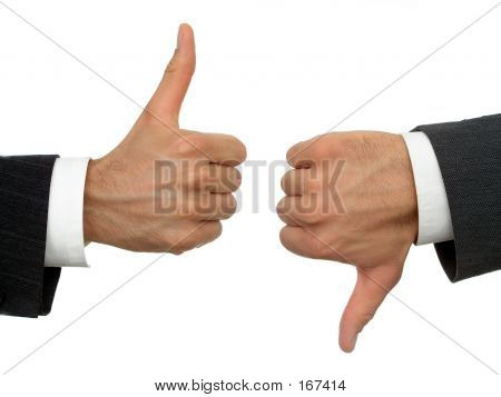 Businessmen's Hands