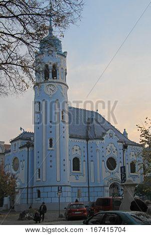 Church Of Saint Elizabeth Hungarian, Bratislava
