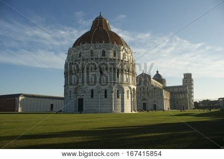 Baptistery Pisa Square Of Miracles