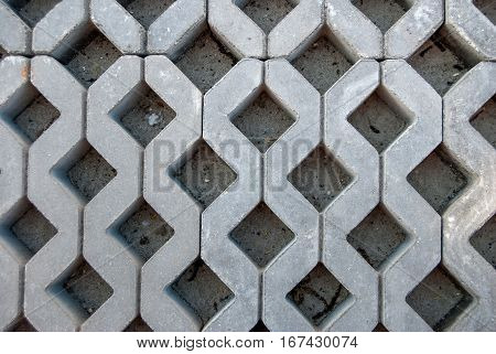 street road pavement texture - close up