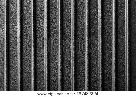 ribbed cast iron surface metal texture textured black background
