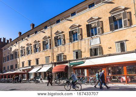 Corso Martiri Della Liberta In Ferrara City